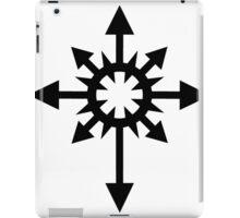 Warhammer 40k Chaos Black Legion Symbol iPad Case/Skin