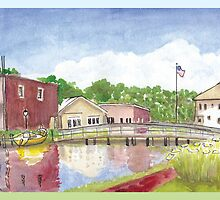 Plein Air Moleskine 2013 Milton Delaware by Jan Crumpley