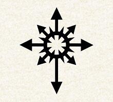 Warhammer 40k Chaos Black Legion Symbol Zipped Hoodie