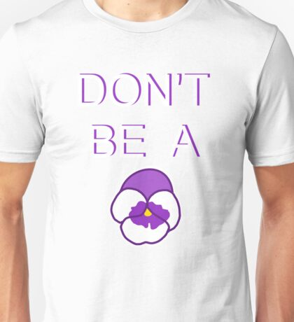 Pansy Unisex T-Shirt