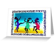'DANCE TILL YOU DROP' Greeting Card