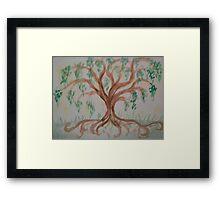 Sacred Willow Framed Print