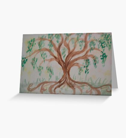 Sacred Willow Greeting Card