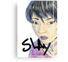 SLAY. Metal Print