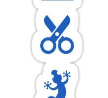 Rock Paper Scissors Lizard Spock Sticker