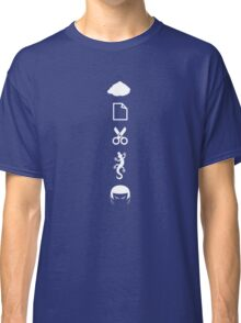 Rock Paper Scissors Lizard Spock Classic T-Shirt