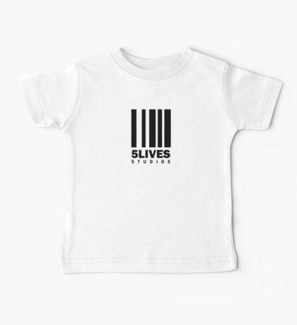 5 Lives Studios Black Baby Tee