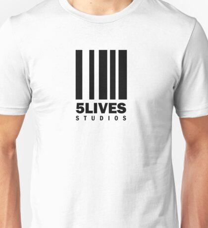 5 Lives Studios Black Unisex T-Shirt