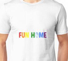fun home-pride logo Unisex T-Shirt