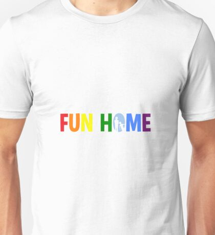 fun home-pride logo Unisex T-Shirt