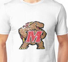 Distressed University of Maryland Terrapins Logo Unisex T-Shirt
