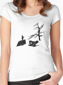The Hobbit-Desolation Women's Fitted Scoop T-Shirt