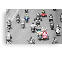 Bikers and Toys Canvas Print