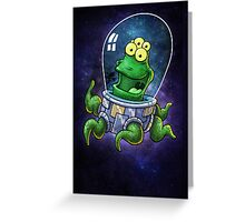 Friendly Alien Greeting Card