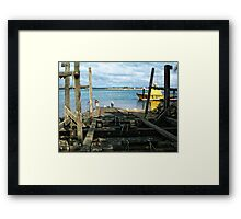 Coast Guard Slipway Framed Print