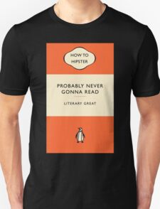 The Hipster Toolkit - The Literary Classic T-Shirt