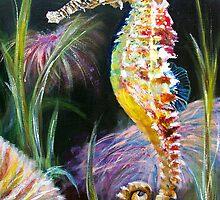 Rainbow Seahorse - Seahorse Series by Elisabeth Dubois