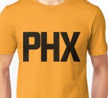 Phoenix Sky Harbor International Airport Black Ink Unisex T-Shirt
