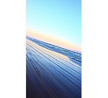 4wd beach driving Fraser Island Photographic Print
