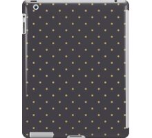 NAVY POLK-A-DOT iPad Case/Skin