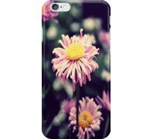 Pink Flower Garden iPhone Case/Skin