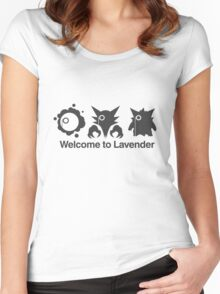 Welcome to Lavender Town Women's Fitted Scoop T-Shirt