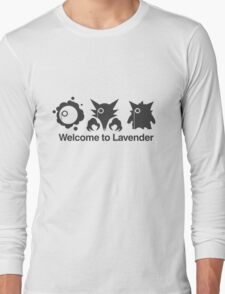 Welcome to Lavender Town Long Sleeve T-Shirt