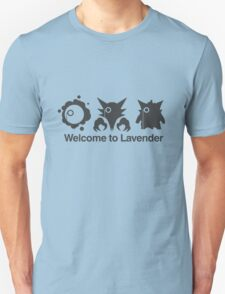 Welcome to Lavender Town Unisex T-Shirt