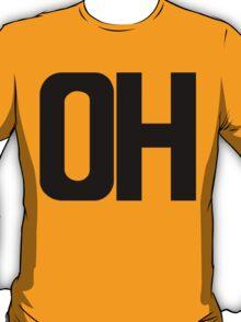 Ohio OH Black Ink T-Shirt