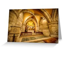 Beautiful Chapel Greeting Card