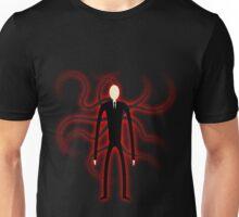 Slender Man - Red Glow Unisex T-Shirt