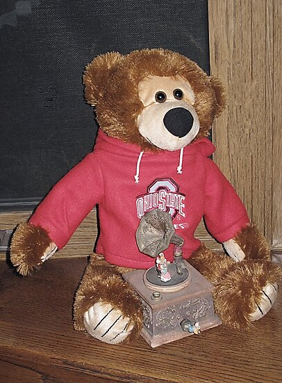 Bucky Bear by Monnie Ryan