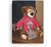 Bucky Bear Canvas Print