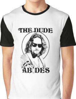 The Big Lebowski Dude Abides Graphic T-Shirt