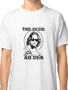 The Big Lebowski Dude Abides Classic T-Shirt