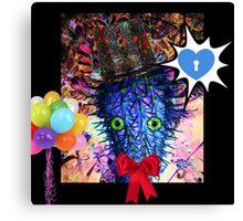 party hat Canvas Print