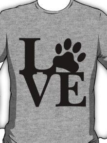LOVE DOG PAW T-Shirt