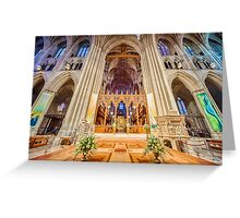 Magnificent Catheral VI Greeting Card