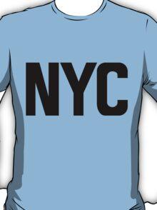 NYC New York City Black Ink T-Shirt