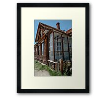 Park Headquarters in Bodie Framed Print