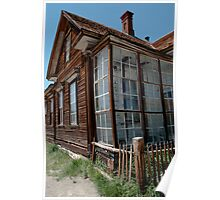 Park Headquarters in Bodie Poster