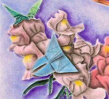 Origami Butterflies by jkartlife