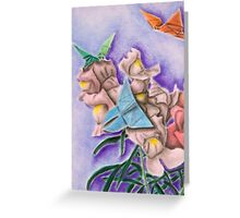 Origami Butterflies Greeting Card