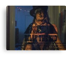 billy dk the kid juxt picture Canvas Print