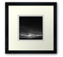 ©HCS Eternal Feedback II Monochromatic F Framed Print