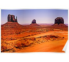 Merrick and Mittens - Monument Valley, Utah, USA Poster