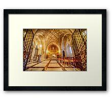 Glorious Chapel II Framed Print