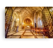 Glorious Chapel II Canvas Print