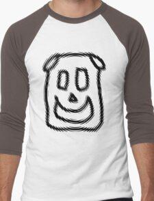 Puppy the Cute Dog Men's Baseball ¾ T-Shirt