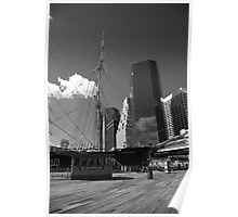 South Street Seaport - New York Poster